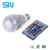 16 Colors Changing 9W magic E27 RGB LED Lamp Light Bulb + IR Remote Control