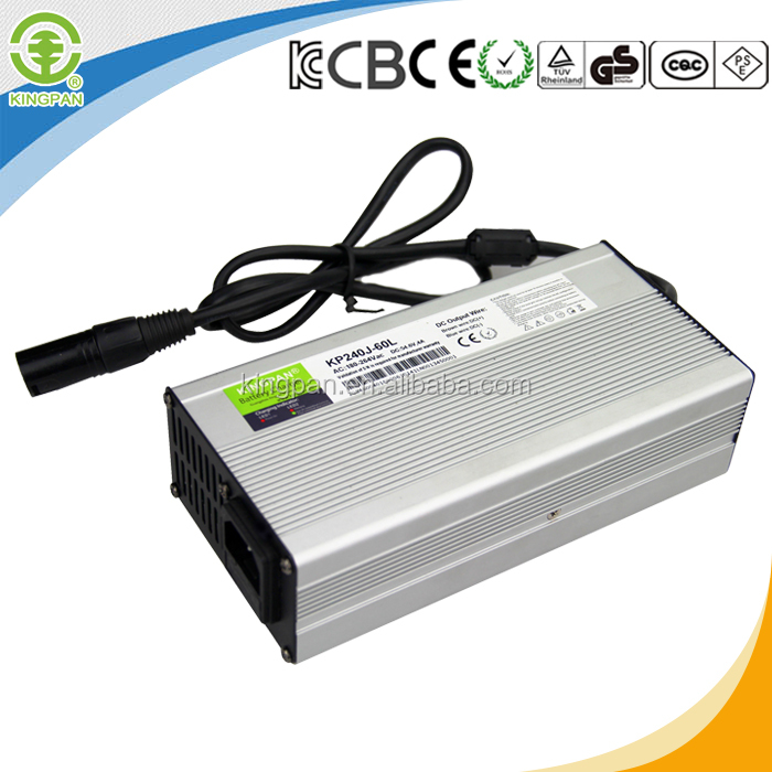 Factory price 48 volt battery charger with water proof made in china