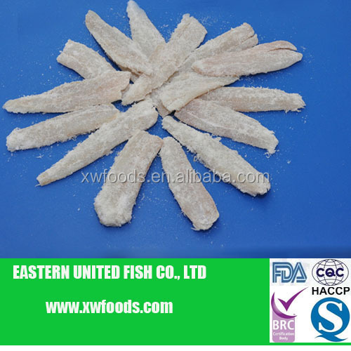 Top quality fresh Salted Alaska Pollock Fillets