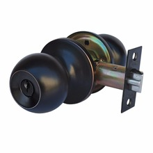 Entry Chrono's Door Lever Knob Handle Set, Oil Rubbed Bronze Finish