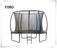 6 8 10 12 14 15 16FT FEET foot FOBO NEW INNOVATE Popular Safe Leisure Steel Bungee Trampoline, Trampoline Park