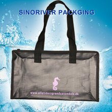 pp woven reusable zipper shopping bag