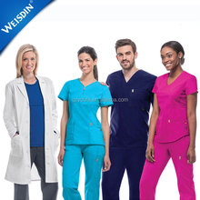 Scrub suit designs wholesale doctor uniform medical scrubs china
