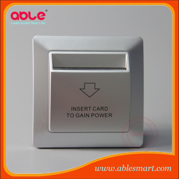 2016 NEW style energy saving switch for hotel