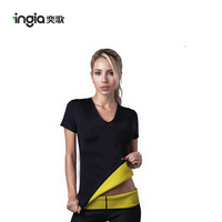 Newest Design Top Quality Women's Sexy Tight T-shirt Neotex Body Shaper