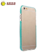360 degree cellphone cover cases for iphone 5 6 and 6plus 7 7plus transparent shockproof case new design