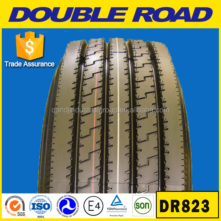 Qingdao Professional Semi 295/75r22.5 Truck Tire 22.5 Sizes Wholesale Off Road 295/75r 22.5 Truck Tires Double Star 11r22.5