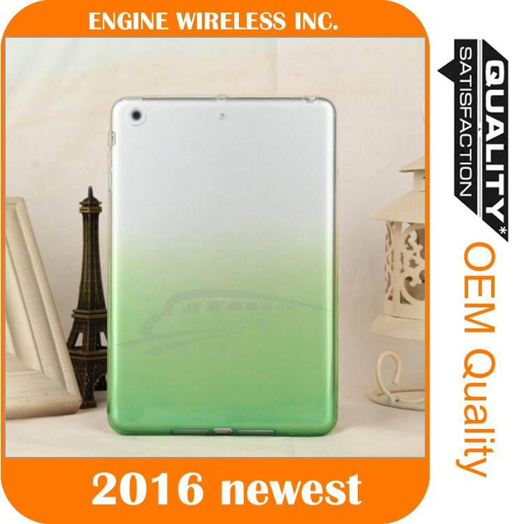 ultra slim tpu colorful case cover for ipad 4 case