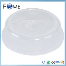 Plastic Microwave Spatter Dish Dome Plate Cover for Kitchen