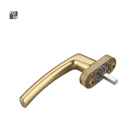 New arrvial door window handle hidden kitchen cabinet handle in zinc alloy