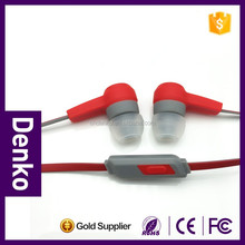 Promotion earphone manufacturer for Iphone, high quality fashion sport earphones headphones