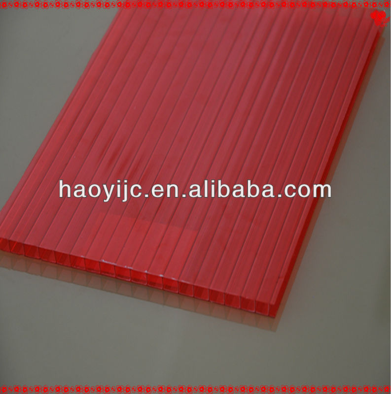 3.5mm-25mm twin-wall/ multilayer polycarbonate sheet