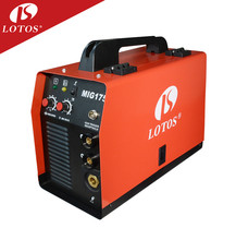 Lotos MIG175 good quality aluminum welders portable small product co2 gas welder for hobby