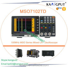 MSO7102TD 8 Inch LCD Color Mixed LA Oscilloscope Low Cost