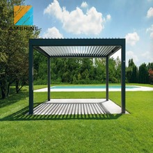 The Best Design Outdoor Motorized Retractable Pergola