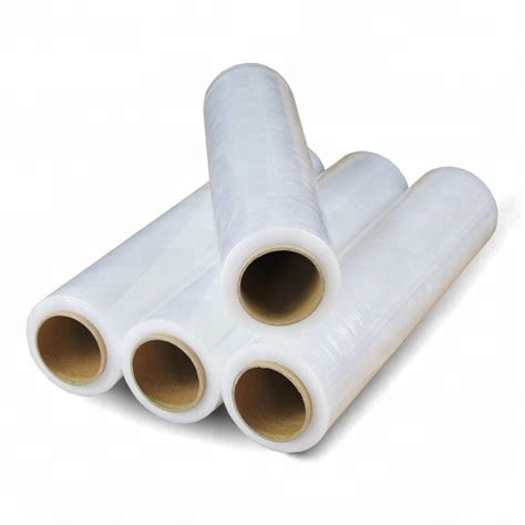 High quality Industry grade PE / LDPE clear wrap stretch <strong>film</strong> on roll