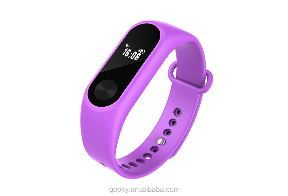 Health Sport Fitness Waterproof OLED IP65 A08 Smart Bracelet Long standby Distance calculation