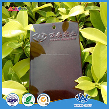 Transparent Red Flash Gold Powder Coating On The Metal Surface Coating