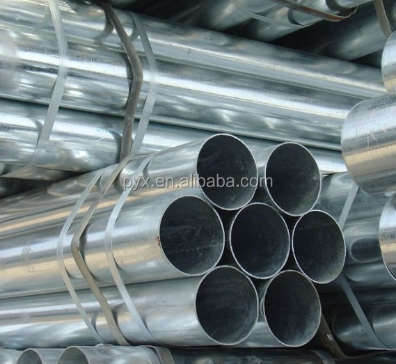 China manufacturer APT ASTM standard building materials galvanized steel pipe