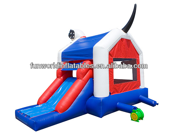 Newest Pet Dog Inflatable Jumping Bouncer Castle Combo