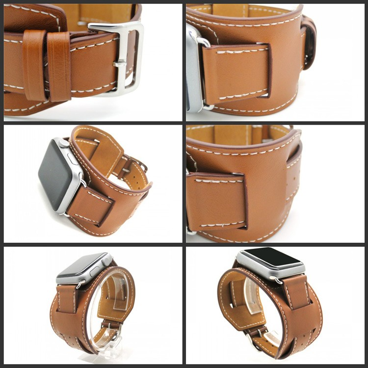Best Selling newest custom fashionable leather watch band for apple