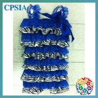 zebra print baby clothes getting baby rompers lace with sateen breathable baby rompers