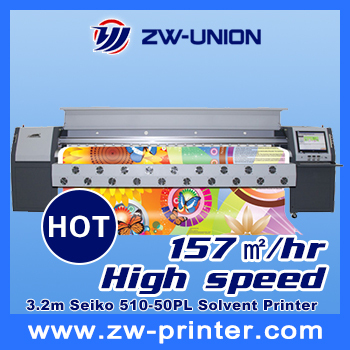 3.2M Large format outdoor phaeton printer UD-3278K with spt 510-50pl printhead