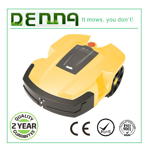 Up to 2500 sqm Denna L600 grass cutting machine robot mower with 8AH lithium battery