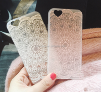 2016 Wholesale Painting Henna Floral Paisley Mandala Flower Ultra Slim Soft TPU Phone Case Cover For iPhone 5/5s/6s/6plus