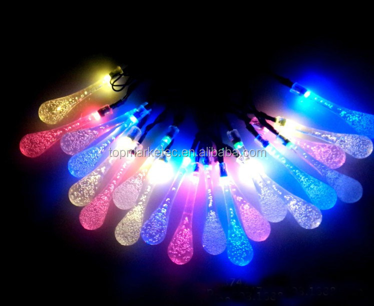50 led Solar String Light Party Wedding Garden Lawn Outdoor Decos
