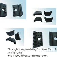 Nylon Insulator Train Parts Railway Fasteners