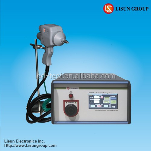 ESD61000-2 IEC 61000-4-2 EN61000-4-2 Electro static electricty Discharge device equipped with an infrared remote control
