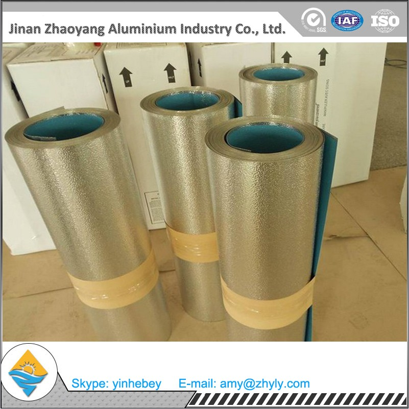 3003-H14 0.8mm embossed aluminium coil for pipeline