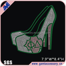 High Heel Shoe Phi Delta Rhinestone Transfer Designs