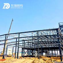 Modern design prefabricated logistic warehouses steel structure