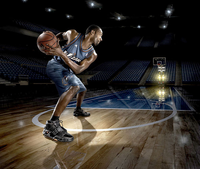 2015 New Environmental Commercial Basketball Court Sports PVC Flooring