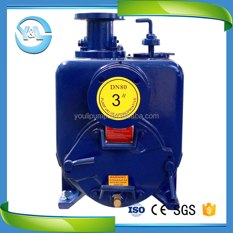 3 inch horizontal self-priming trash pump
