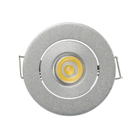 1W 3W Recessed Cabinet Led Spot