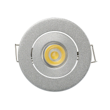 1W 3W Recessed Cabinet Led Spot Lights Mini Led Downlight Dimmable