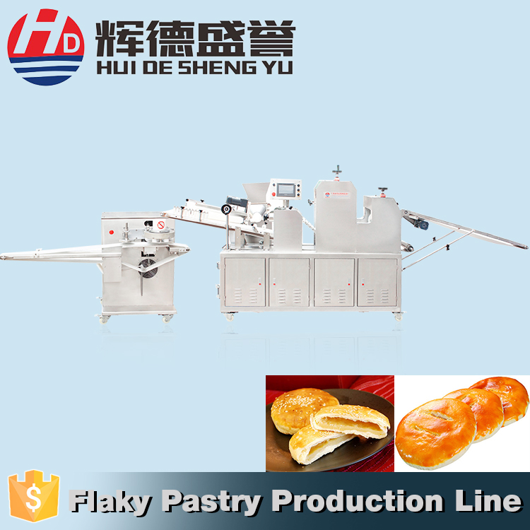 Factory Extruder Small Scale Mixing Moulding flaky pastry dough Food Machine