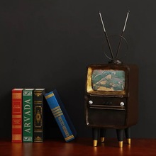 Steel Vintage TV Model Art And Craft
