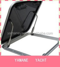 Fishing boat equipment square aluminum alloy boat scuttle, boat skylight