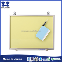 Elegant design Frame Aluminum Yellow chalk board for Kids
