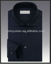 high end cotton formal lastest party shirt design for men
