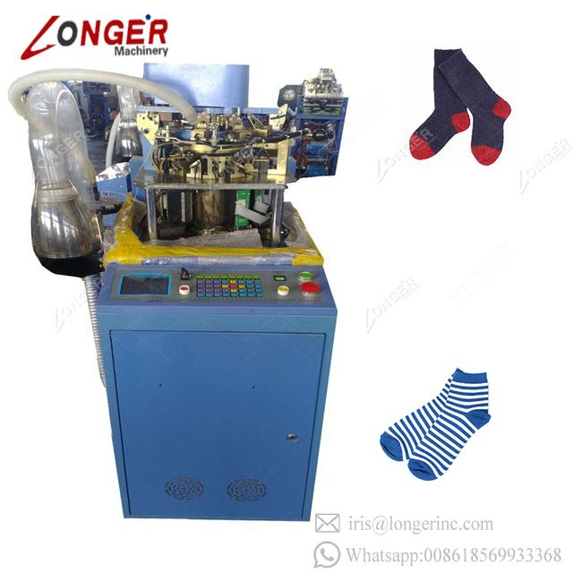 Computerized Automatic Circular Sock Machines Korea Socks Knitting Machine For Sale