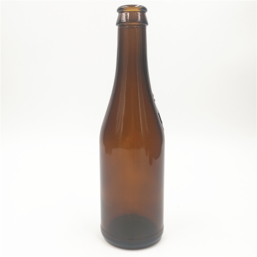 500ml amber color beer glass bottle