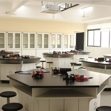 Directly manufacture nice workbench wooden commercial electrical lab furniture