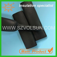 70mm Flexible Black EPDM Rubber Heat Resistant High Quality Shrink Sleeve