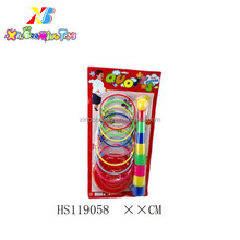 Baby plastic throwing ring toss game toy
