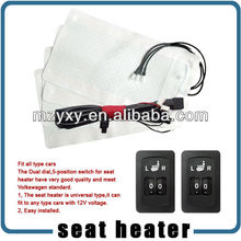 2-dial 5-level switch seat heater high quality auto seat heat kit